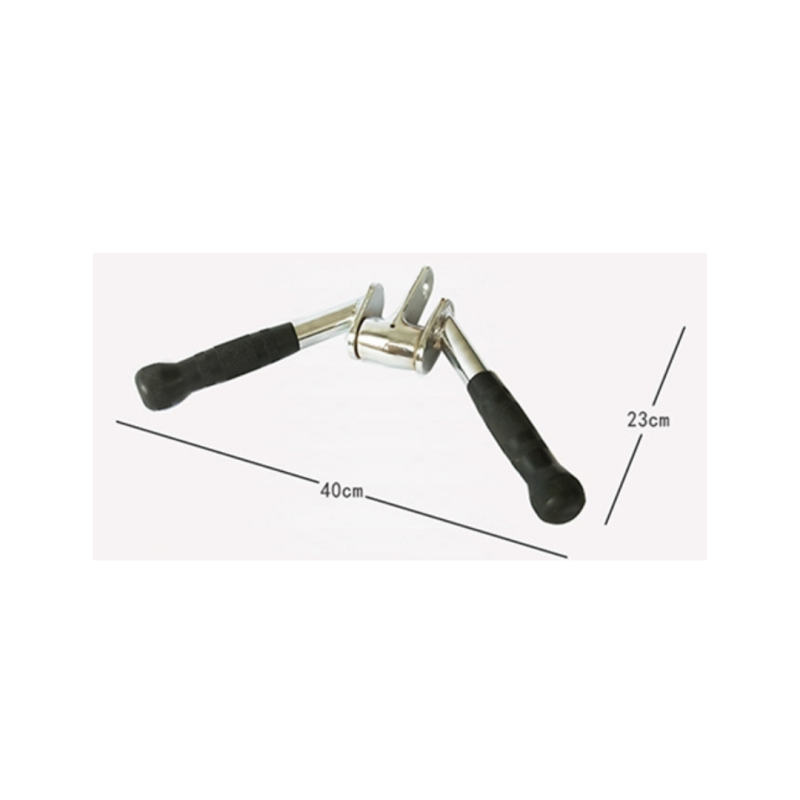 Gravity D Angled Pivoting Pressdown Bar with Rubber Grip