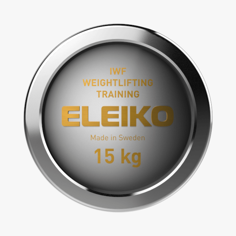 Eleiko IWF Weightlifting Training Bar - 15 kg, women