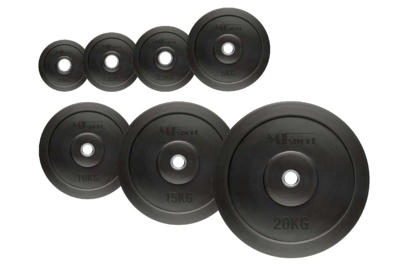 10 kg 30mm rubber plate