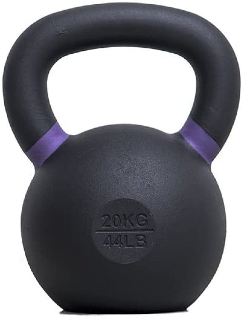 Evolution Black Cast Iron Kettlebell - 20 Kg.