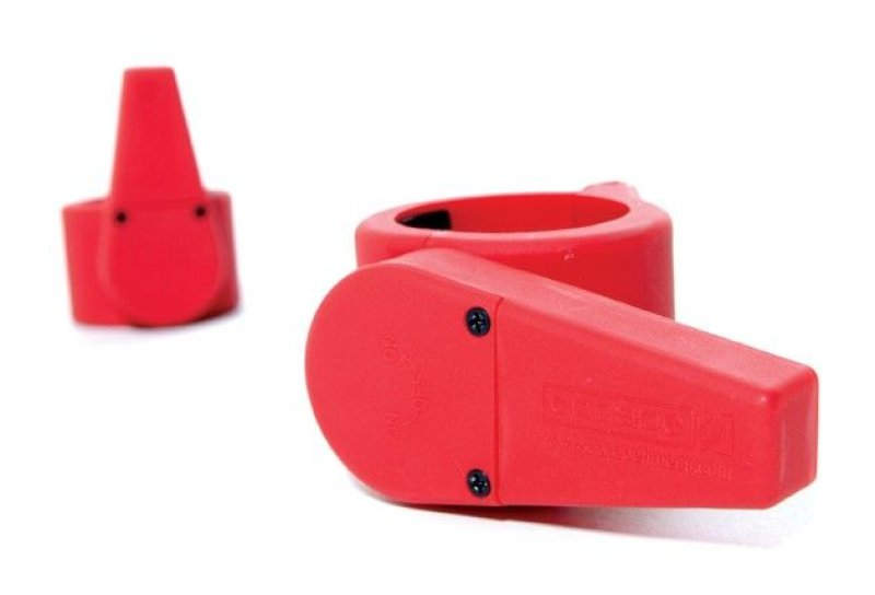 Olympic Clamp Collar Pair - Red