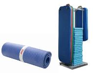 Mats, mat racks, mat storage