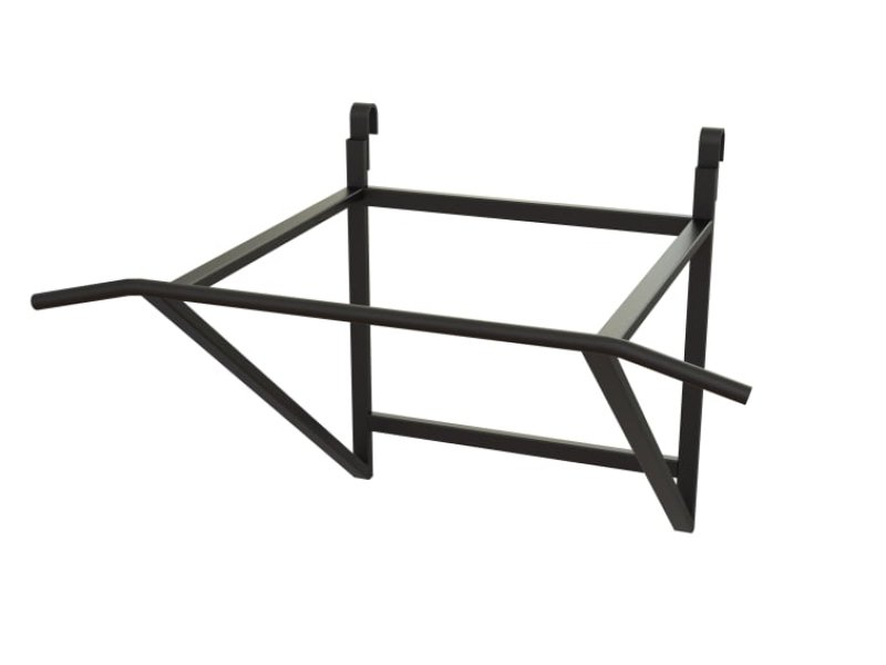 Steel chin up frame for swedish walls