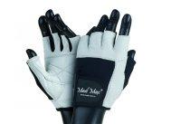 MADMAX FITNESS Gloves for fitness, Men's, White / black