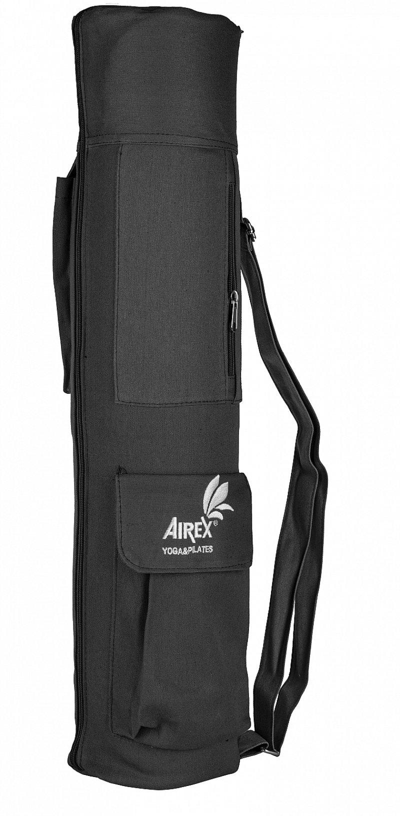 AIREX Yoga Carry Bag, Black, 100% Canvas