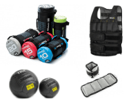 Weighted bags, Balls, Vests, Ankle/Wrist Weights