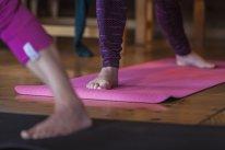 Eco Yoga paklājs, rozā