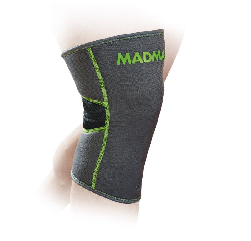 MADMAX ZAHOPRENE Knee Support, Dark grey / Green
