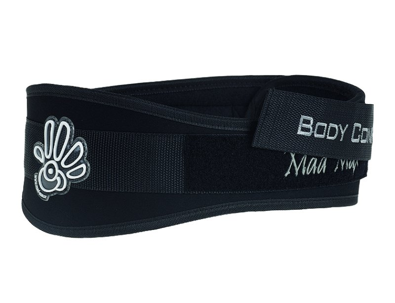 MADMAX Body Conform Fitness Belt, Unisex, Black