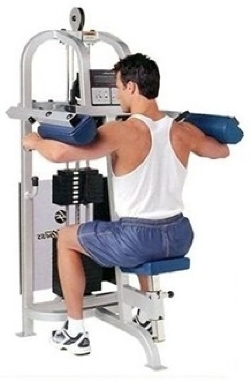 Life Fitness Pro 9000 Lateral Raise