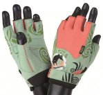 MADMAX RATS with Swarovski elements Gloves for fitness, Women's, Light green