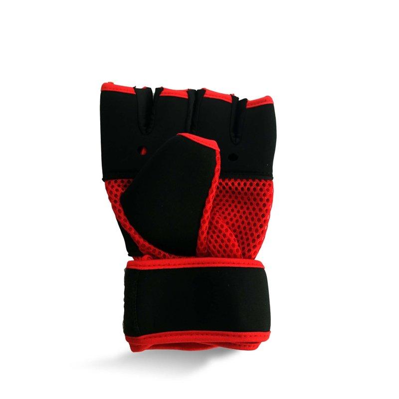 Super Pro Gel Hand Wraps Red
