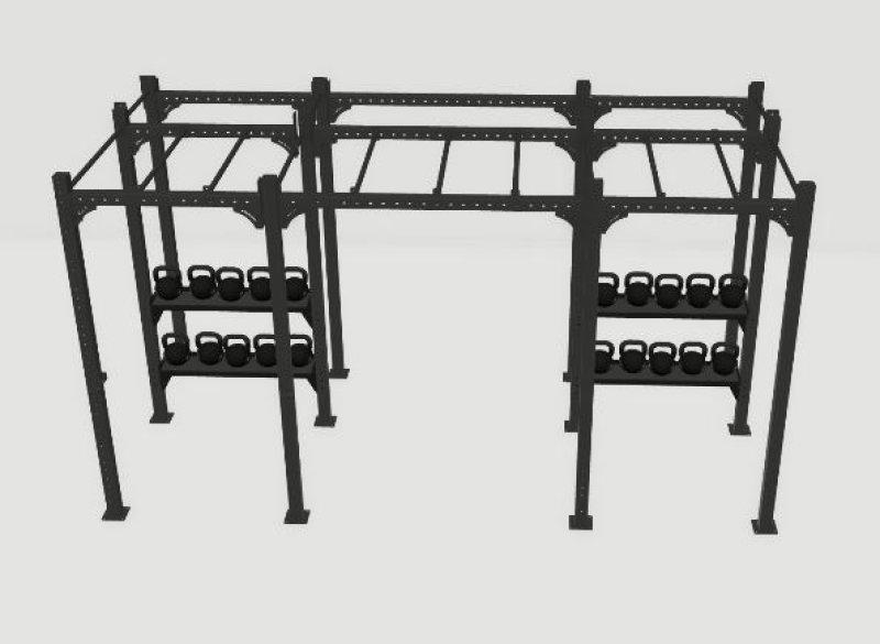 Eleiko Custom Freestanding 4,2m XF 80 Rig