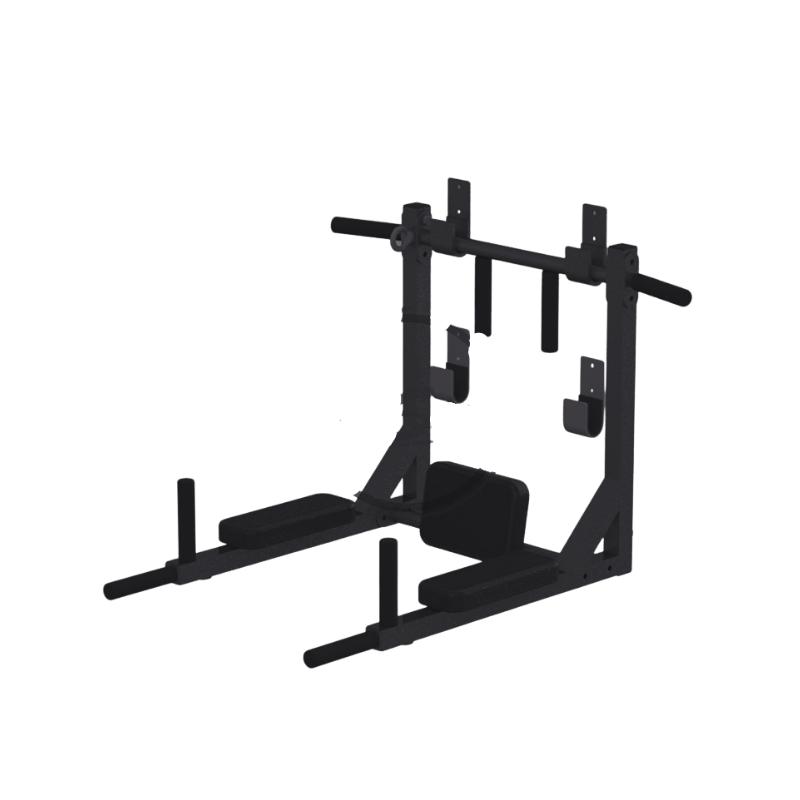 Gravity Z Home gym chin / dip / abdominal frame, wall mount