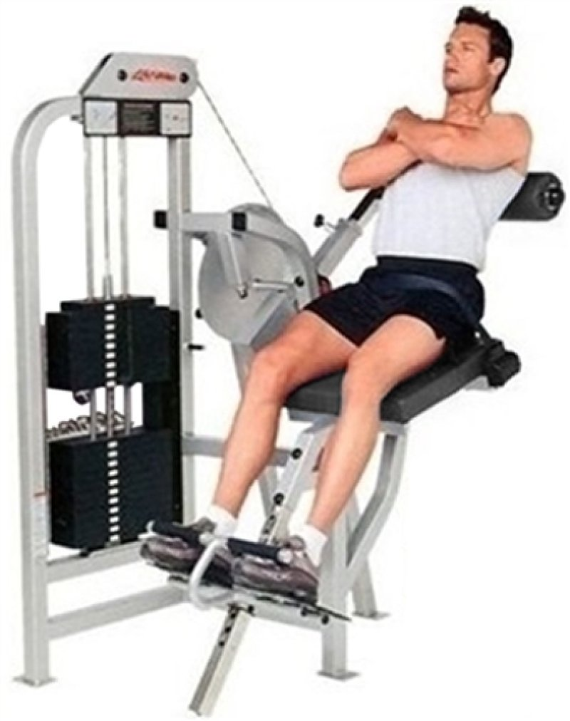 Life Fitness Pro 9000 Low Back Extension