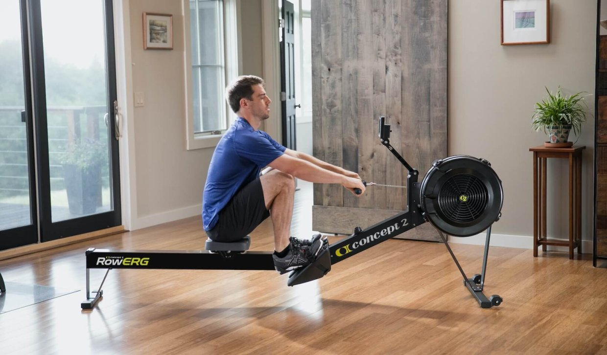 Benefits of a rowing machine