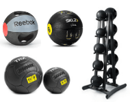 Weighted balls and racks