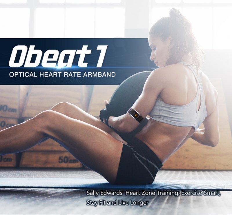 Obeat7 Optical Heart Rate Armband