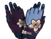 MADMAX New Age Gloves for fitness, Women's, Violet / Sand