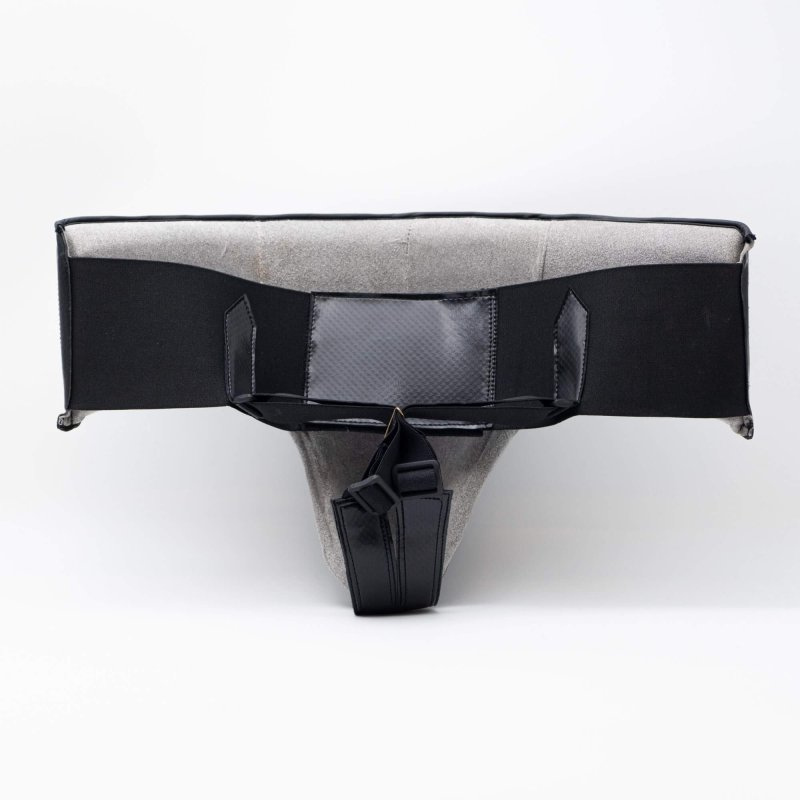 Pro Fitness Groin Guard Synthetic Leather Black