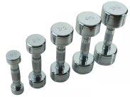 Gravity D Chrome steel dumbbell, pcs