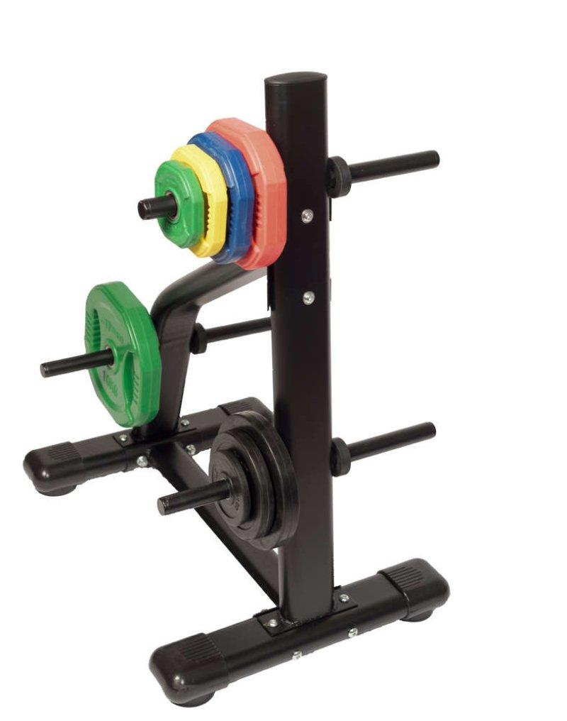 Disc rack Ø 30mm, 50 x 70 x 100 cm, black