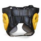 Super Pro Spar Head Guard Metallic Black / Gold
