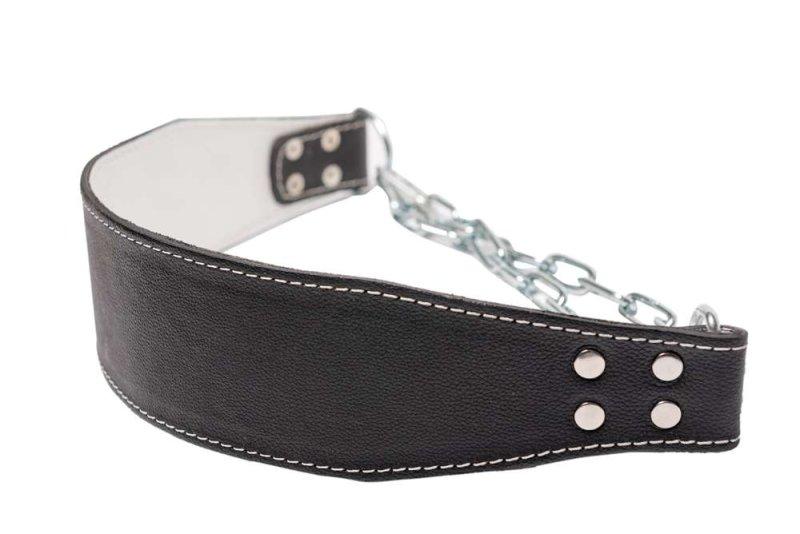 dip belt, leather