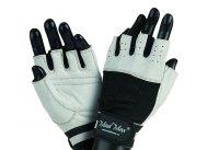 MADMAX CLASIC Gloves for fitness, Men's, White / black