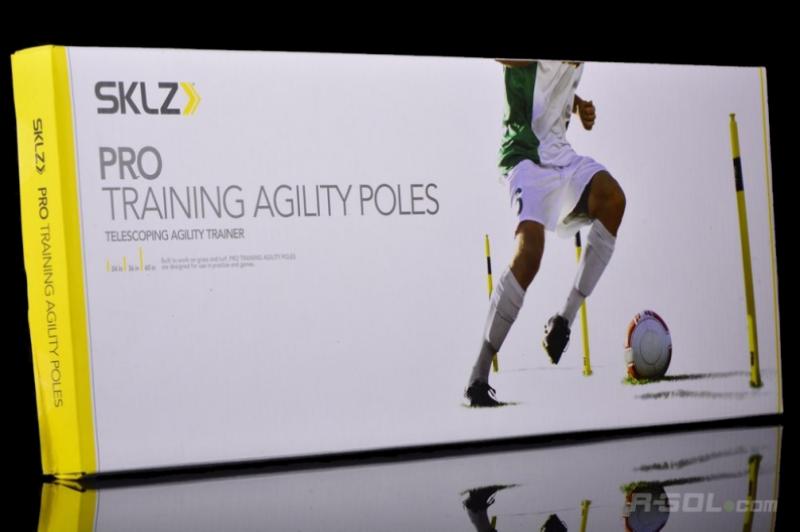 Pro Training Agility Poles (Set of 8)