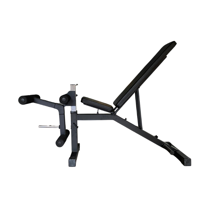 Gravity Z Adjustable Bench with Leg Training Attachment