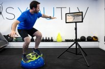 """BoBo Pro Plus - a balance and stability system- 19"""" touch screen. Motion sensor included"""