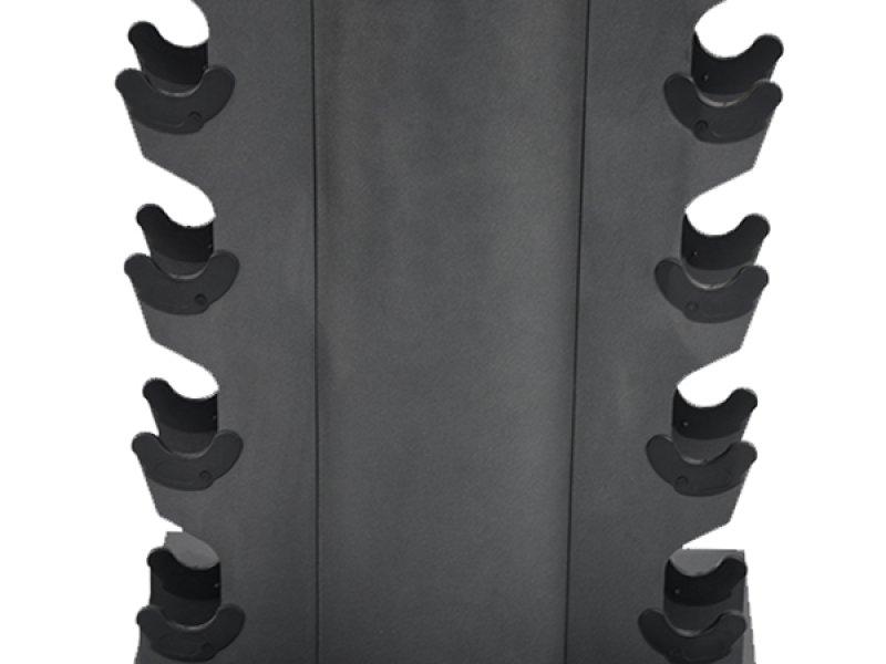 Gravity D Vertical Dumbbell Rack for 10 pairs