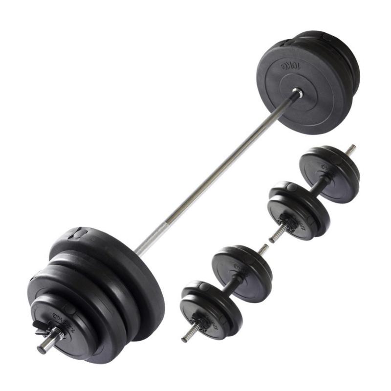 Gravity A Vinyl Barbell, Dumbbell Set 60 kg