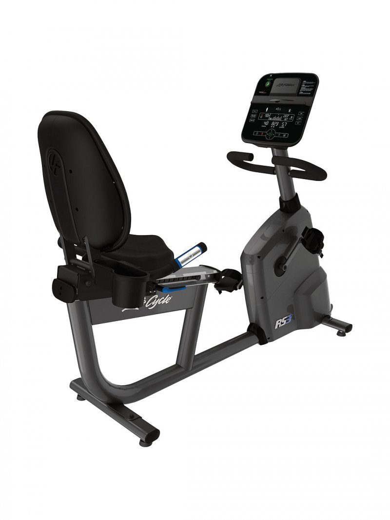RS3 Recumbent Bike with Track Connect Console