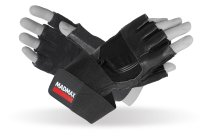 MADMAX PROFESSIONAL Exclusive Gloves for fitness, Men's, Black / black