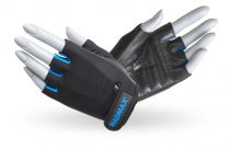 MADMAX Rainbow Gloves for fitness, Women's, BLACK/TURQUOISE