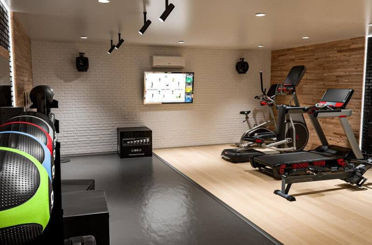 It's the perfect time to build your home gym. Here's how...