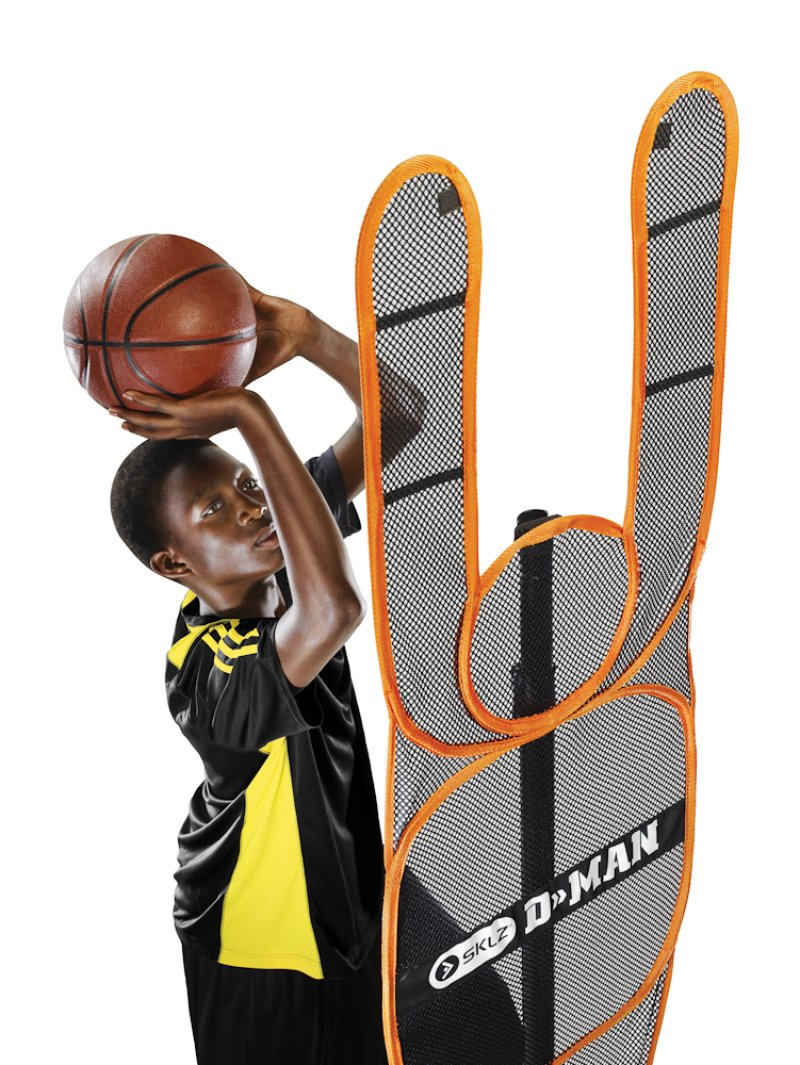 D-Man Basketball , orange