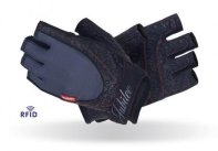 MADMAX Jubilee with Swarovski elements Gloves for fitness, Women's, Black