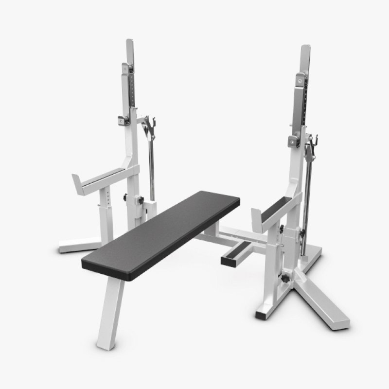 Eleiko PL Squat Stand/Bench - Grey/Black