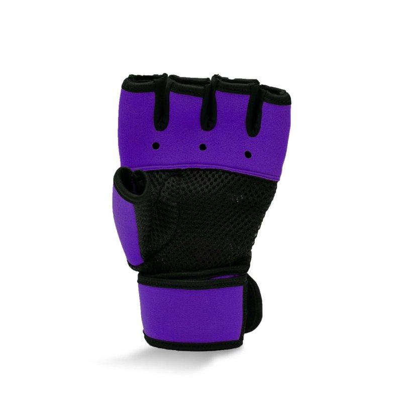Super Pro Gel Hand Wraps Purple