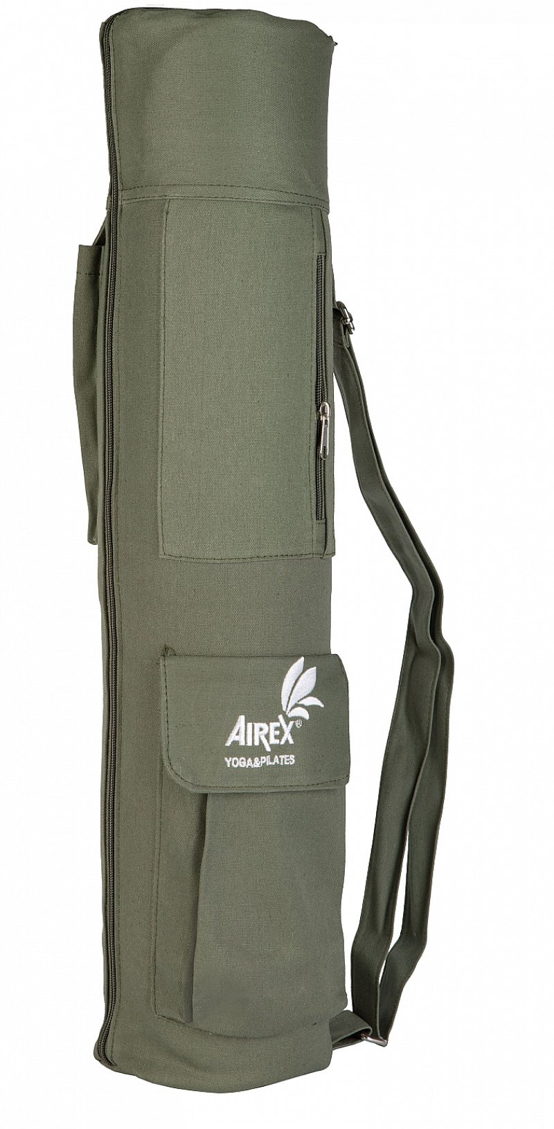 AIREX Yoga Carry Bag, Oliv, 100% Canvas