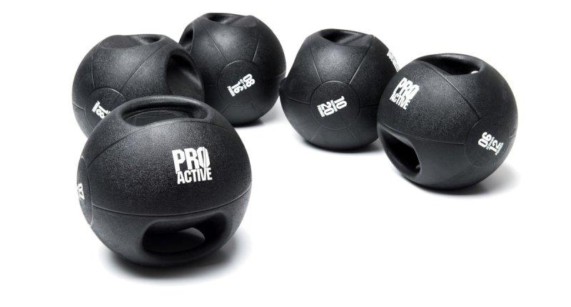 ProActive Double Grip Medicine Ball