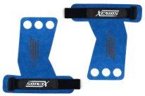 3 Fingers Gymnastic Grip - BLUE - Genuine Leather
