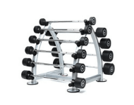 Barbell sets with rack