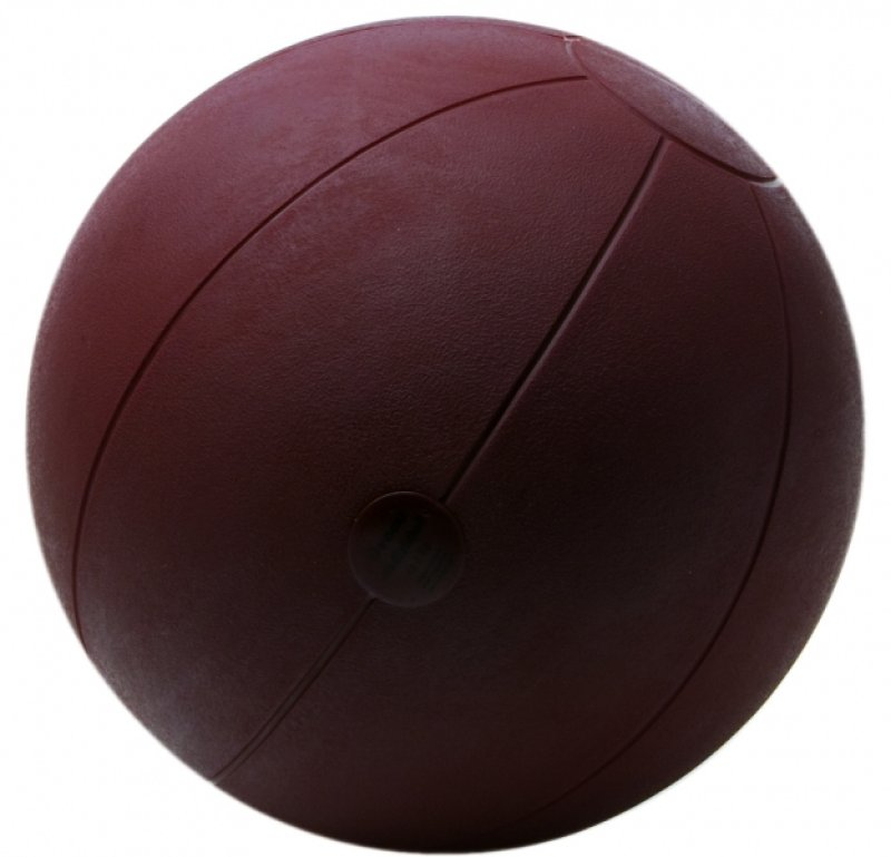 Medicine Ball classic 2 kg, brown , 28 cm