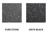 Pavigym Extreme 90x90 7mm Pure Stone + Onyx Black