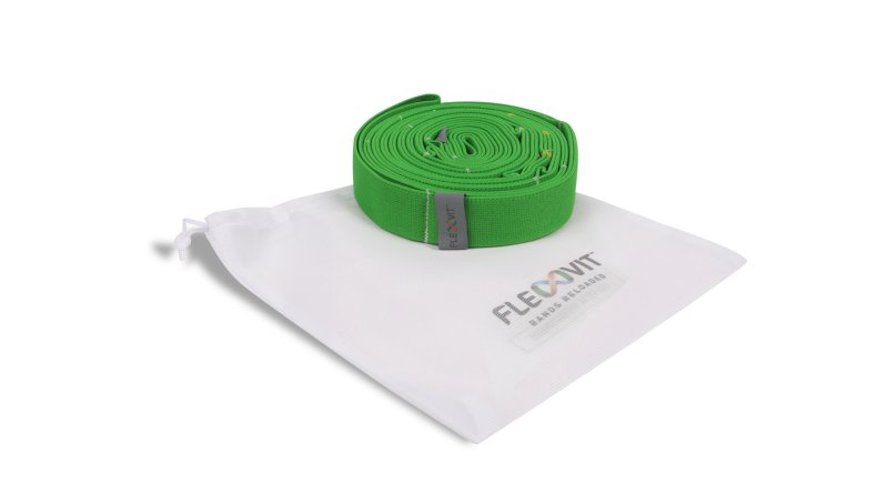 FLEXVIT Multi knit bands, bundle (3) with mesh bag