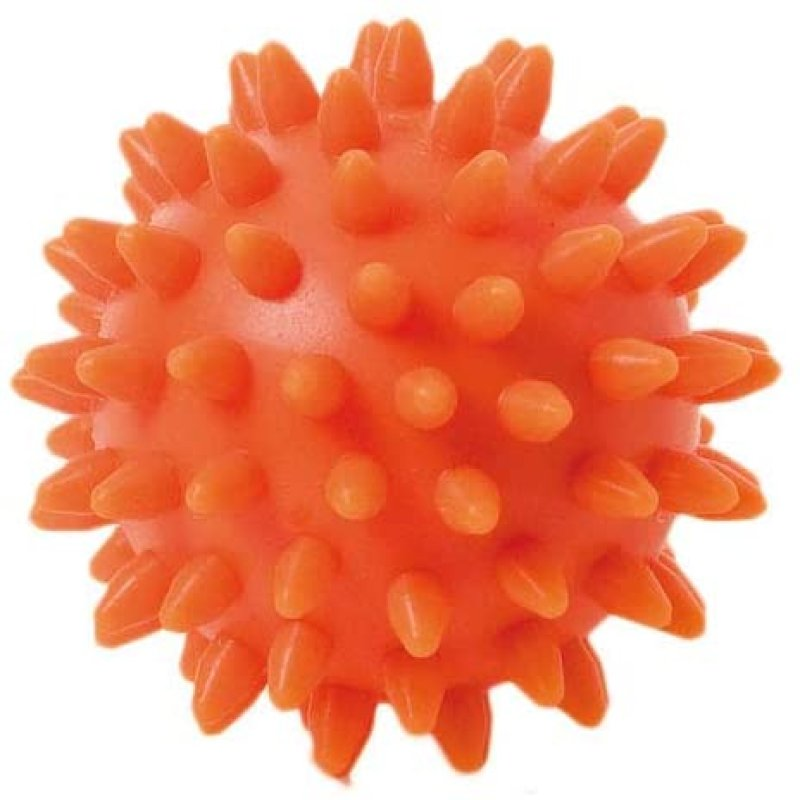 Spiky Massage Ball 6 cm, orange, 6 cm